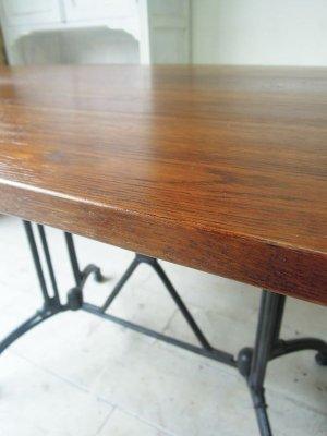 ホワイトオーク無垢板テーブル
