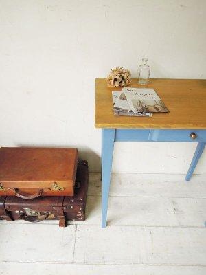 画像5: ワークテーブル ブルー