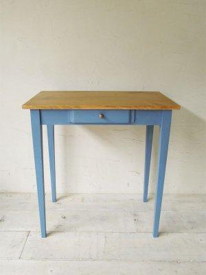 画像2: ワークテーブル ブルー