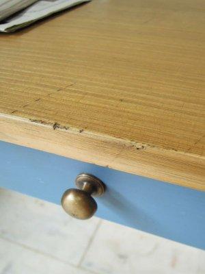 画像3: ワークテーブル ブルー
