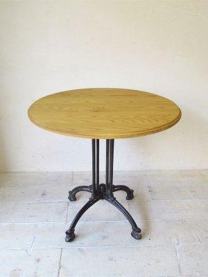 アイアン鉄脚テーブル(直径800)