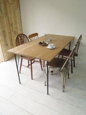 画像2: アイアンレッグダイニングテーブル
