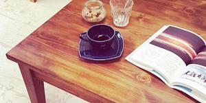 アンティーク調ローテーブルをオーダーメイドで製作