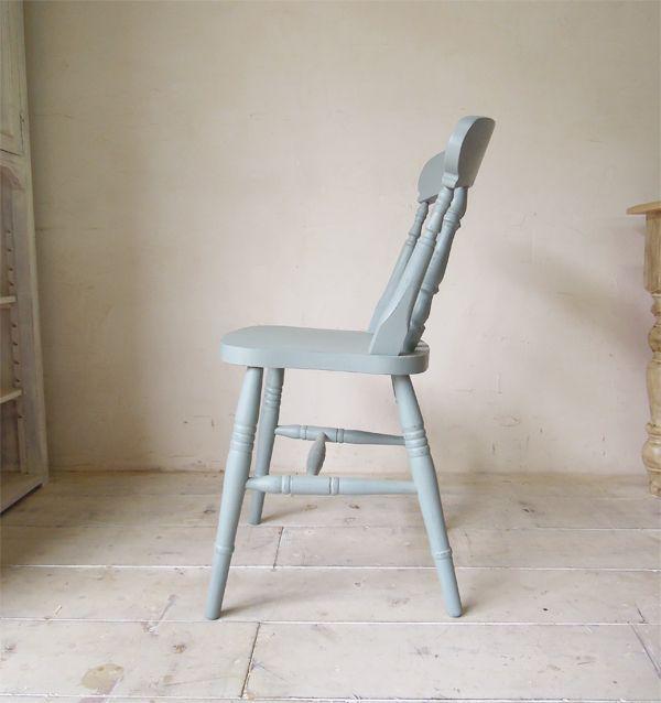 グレーの椅子、座面高