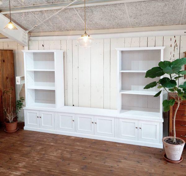 ホワイト,カラーオーダー,壁面収納家具