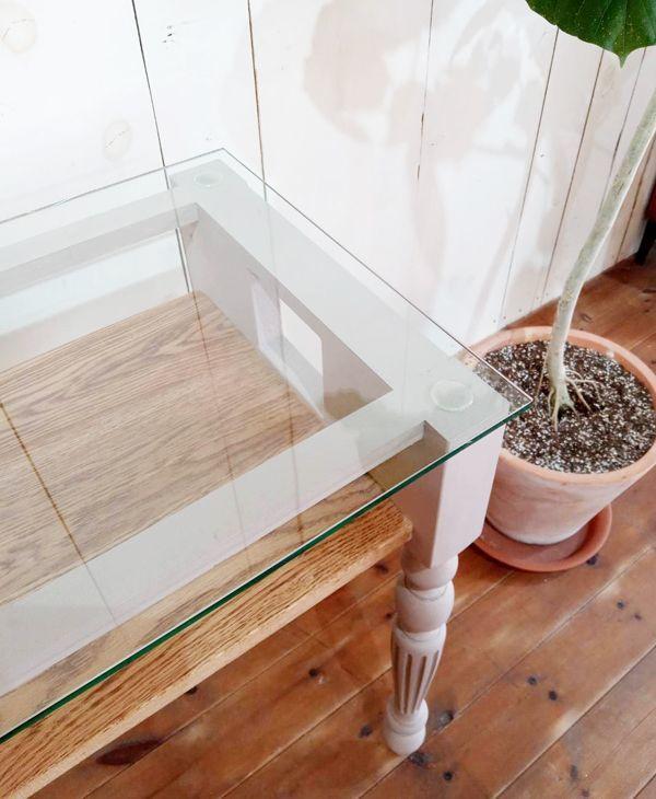 ガラストップ,ネイルテーブル,オーダーメイド