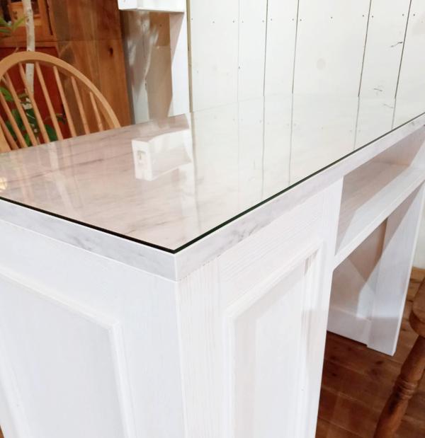 ガラストップ,大理石,ネイルテーブル