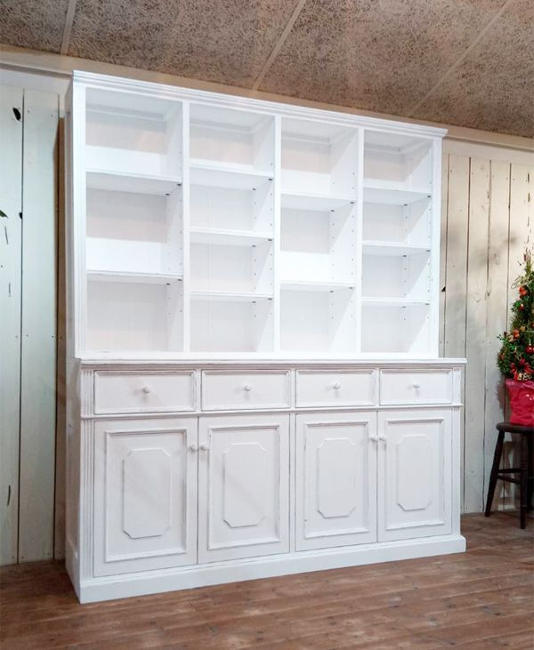 輸入住宅や洋書スタイルにぴったりの壁面収納家具