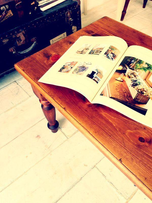 コーヒーテーブル,無垢家具