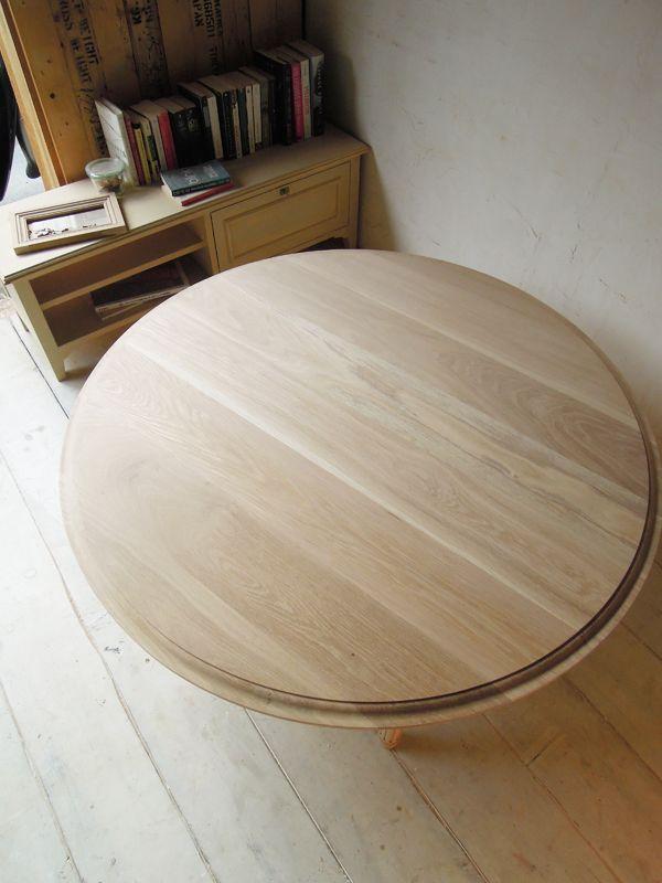 丸テーブルのオーダーメイド