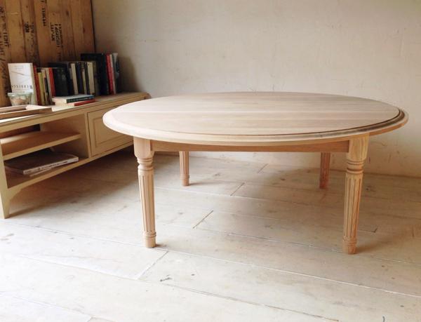 無垢材ローテーブルのオーダーメイド