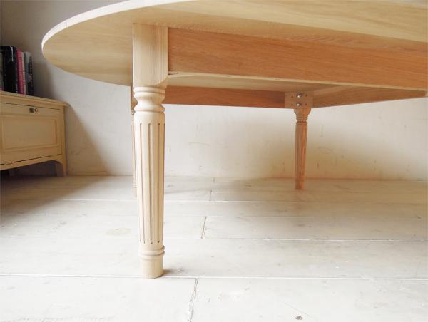 丸コタツテーブルのオーダーメイド