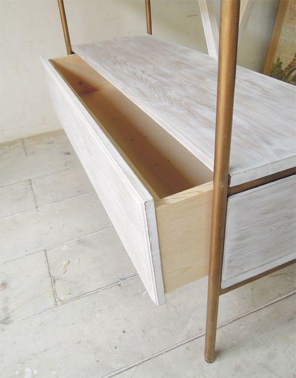 引出し付きオープンシェルフ店舗家具