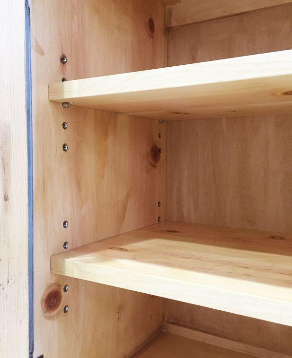パイン家具,ブックシェルフ,棚板