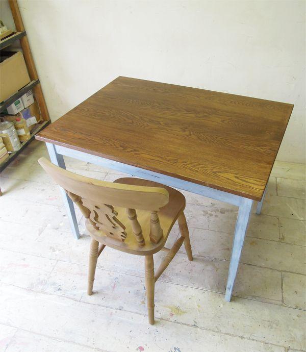 オーク,学習机,PCテーブル