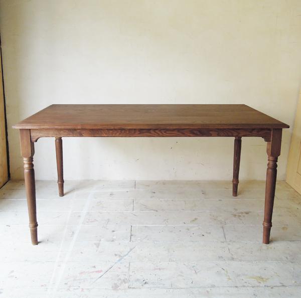 W1600,4人掛けダイニングテーブル