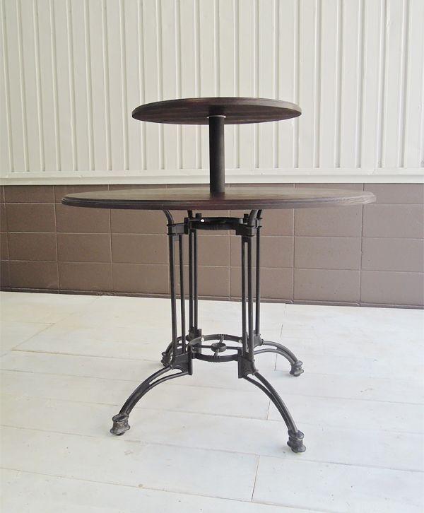 展示台,店舗什器,丸テーブル