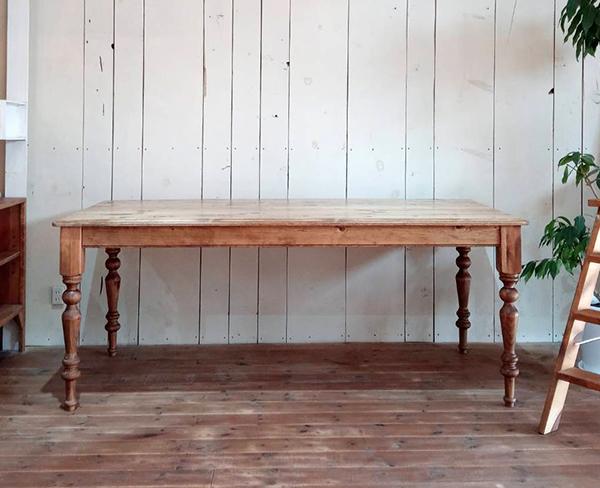 オーダーメイド,アンティーク調テーブル,6人がけ