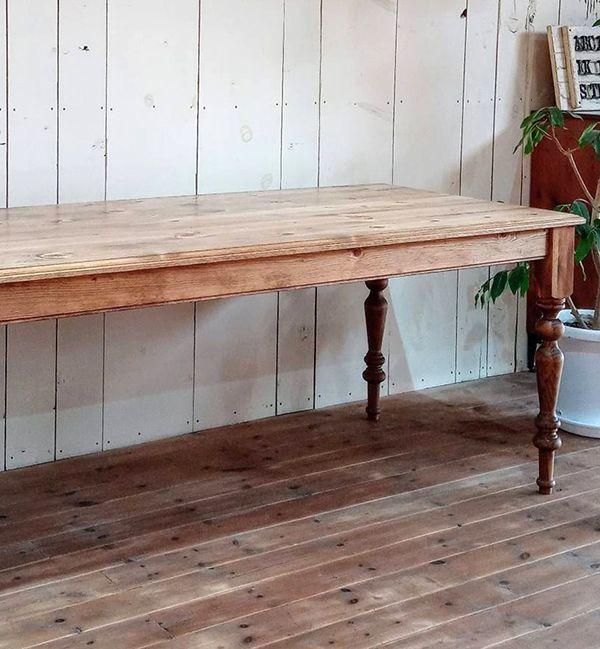 ターンドレッグダイニングテーブル,1400,1600,1800