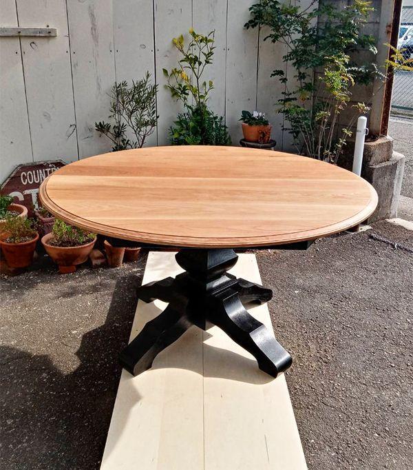 ターンドレッグダイニングテーブル,サイズオーダー