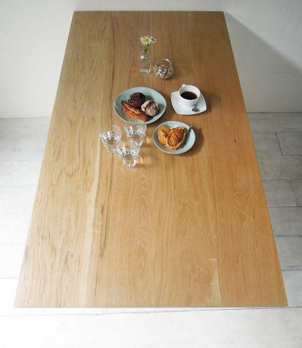ホワイトオークテーブル
