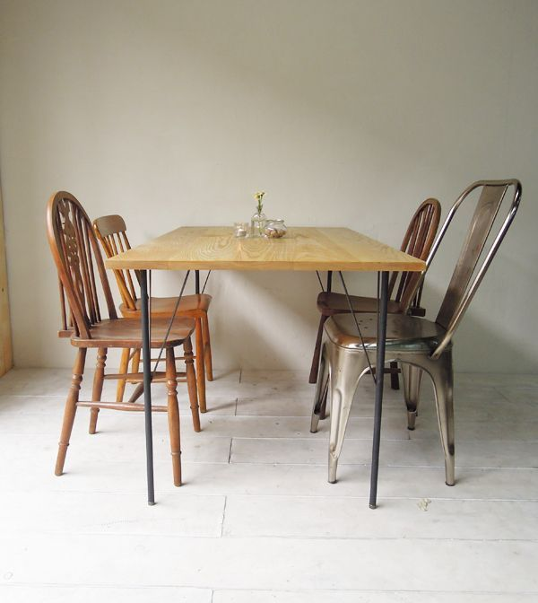 DIY鉄脚テーブル、大阪、カラーオーダー