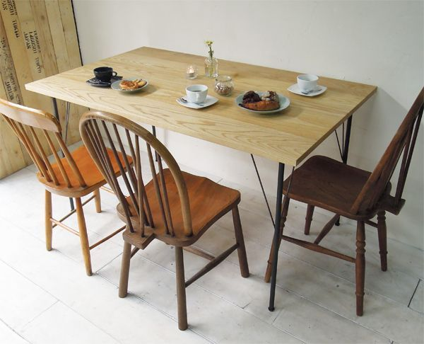 DIY鉄脚テーブル、大阪