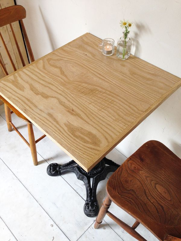 ハニー色テーブル、ホワイトアッシュ