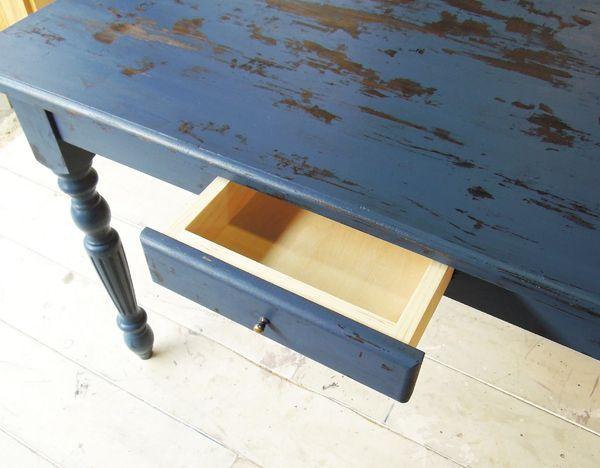 引出し付きダイニングテーブル、アンティーク家具