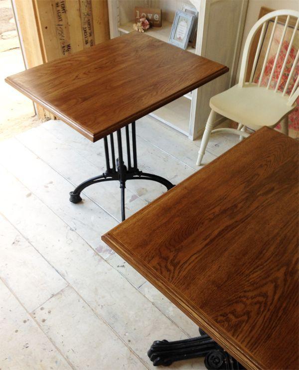 鉄脚ダイニングテーブル,1本脚
