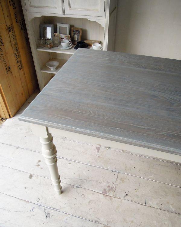 グレイッシュトーン,オークダイニングテーブル