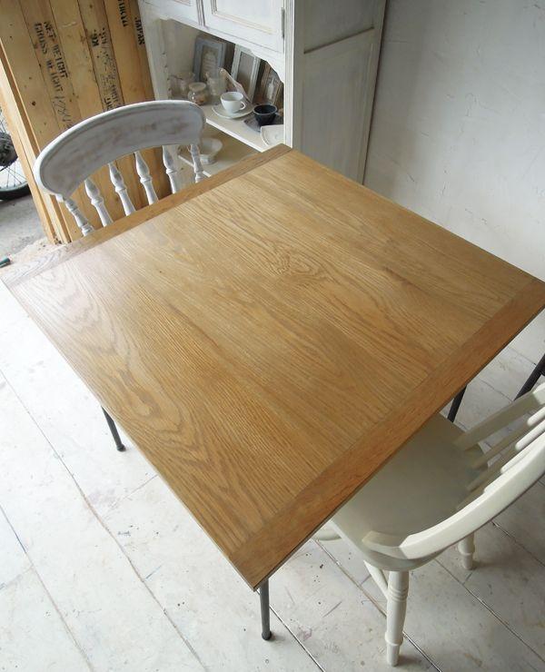 ホワイトオーク天板,テーブル