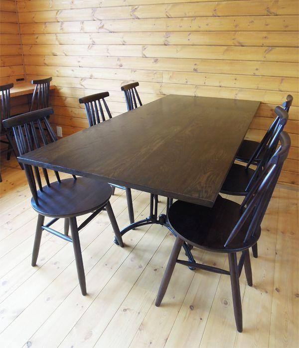 アパレル展示テーブル,鉄脚テーブル@大阪東京