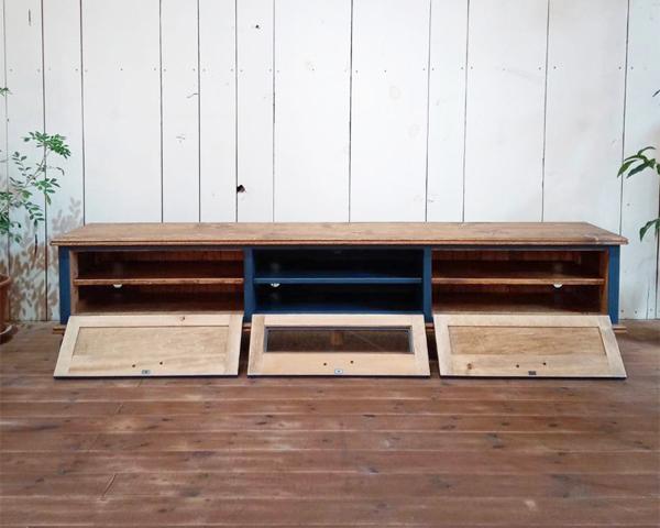 ガラス扉,オーダーメイド家具、ローボード