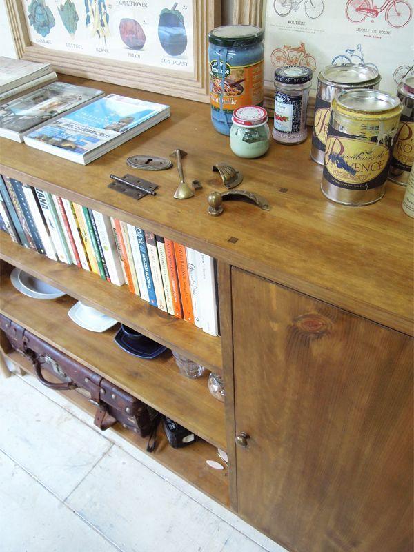 アンティーク家具ディスプレイボード
