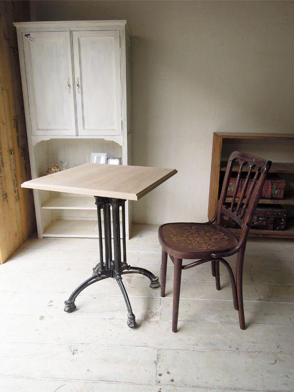 飲食店様向け鉄脚テーブル、サイズオーダー