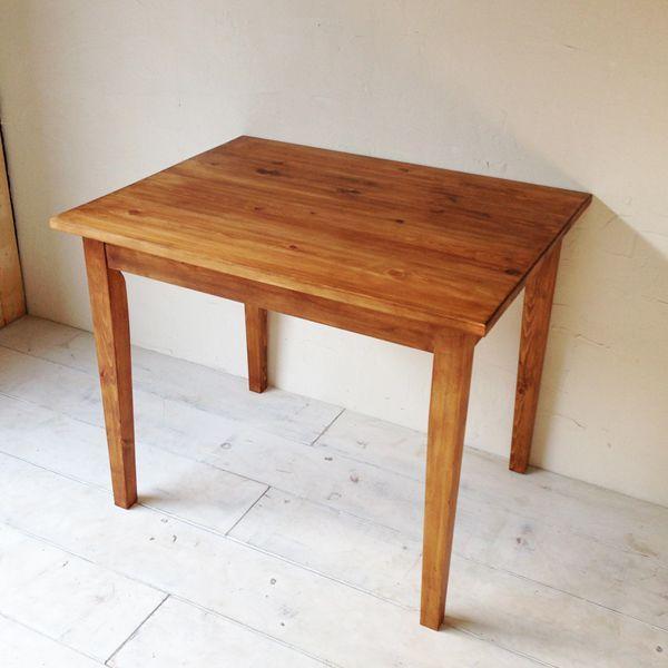 アンティーク調パインダイニングテーブル